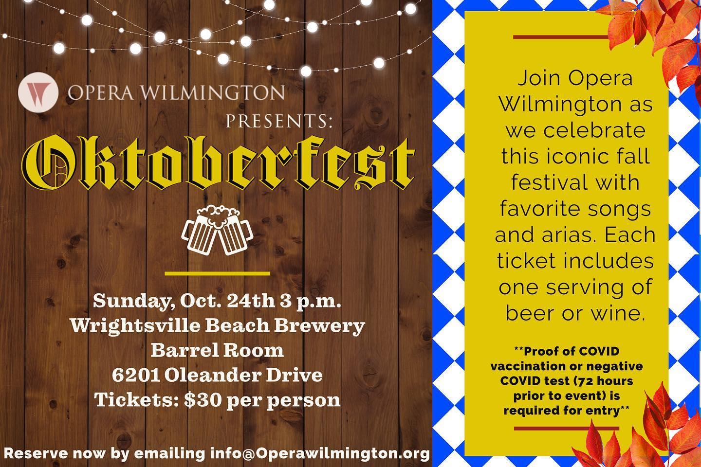 Opera Wilmington Pop-Up Event